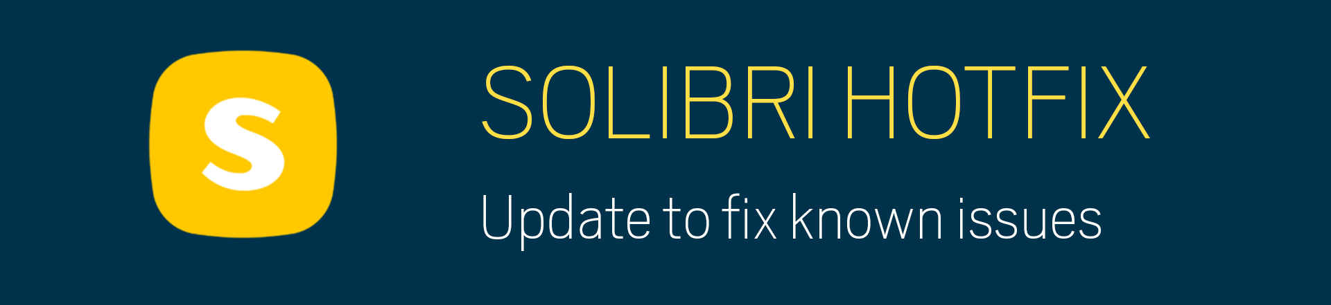Solibri 9.10.5 – Hotfixのお知らせ